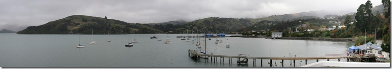 Akaroa bay from lighthouse