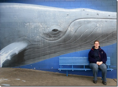 Fem with Whale wall