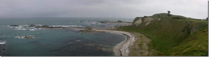 Panorama of one of the bays