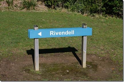 Sign to Rivendell