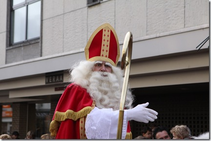 another shot of sinterklaas himself