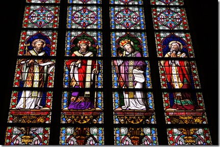 detailed stained glass