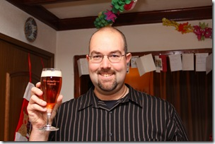 Me with the beer