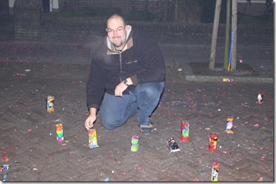 Me about to set of some fireworks
