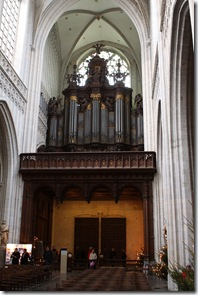 Antwerp church interiors