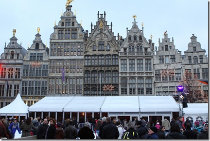 main square at Antwerp