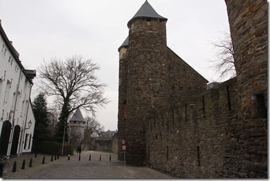 The walls of Maastricht