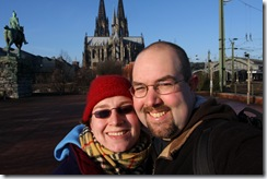 Us with the Dom in the background