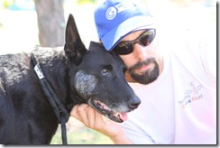 One of the last photos taken of Brent and Zulu